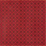 Плитка Atlas Concorde Fancy Италия Красный,Чёрный Декор BCTILES0006927 Fancy Levigato CHERRY Pattern Platinum 20Х20